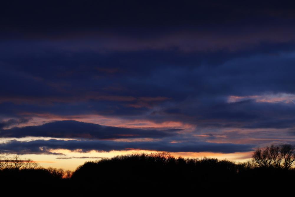 Sunset in Dessau - version 3