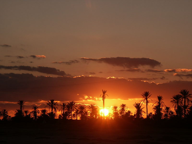 Sunset in Djerba