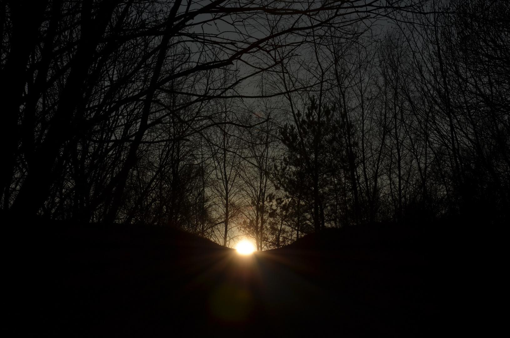 Sunset in Dudelange(LUX)