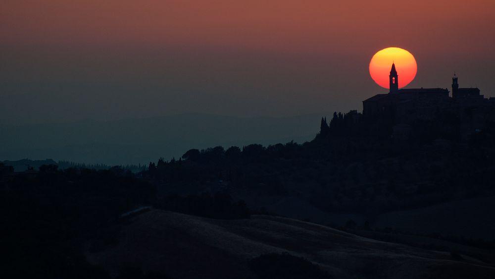 sunset in fairyland