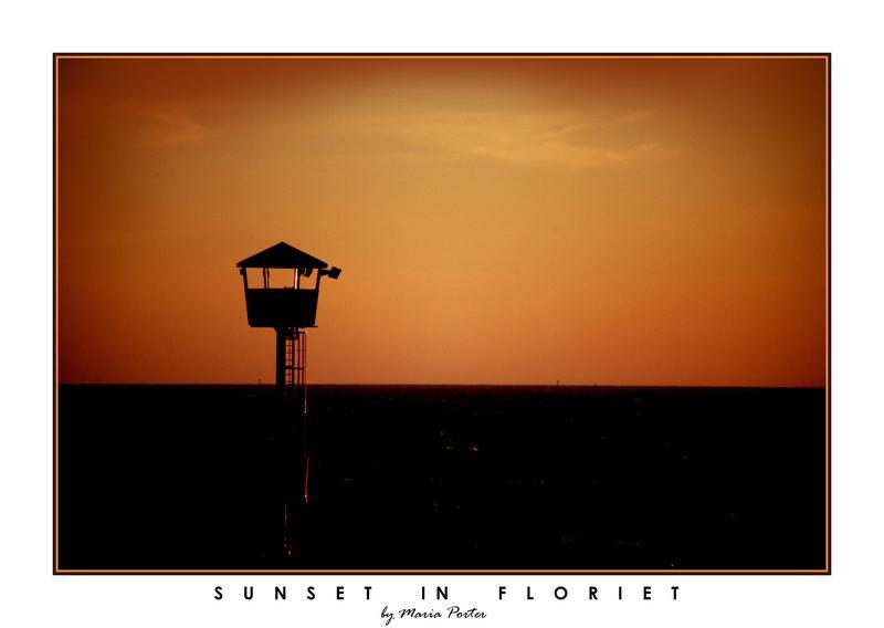 Sunset in Floriet