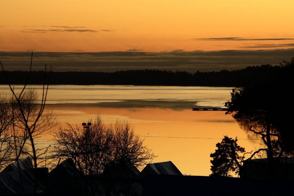 Sunset in Flottsund.