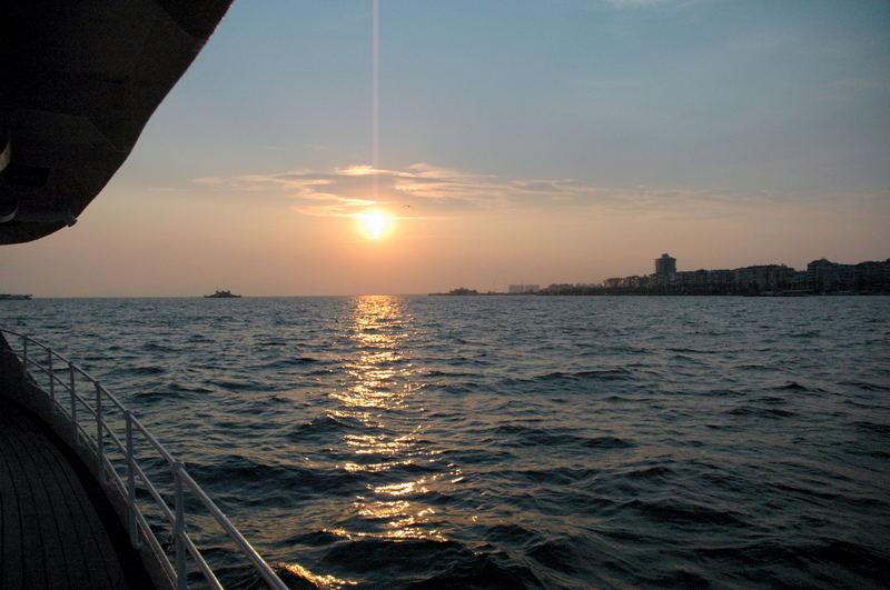 SUNSET IN GULF IZMIR