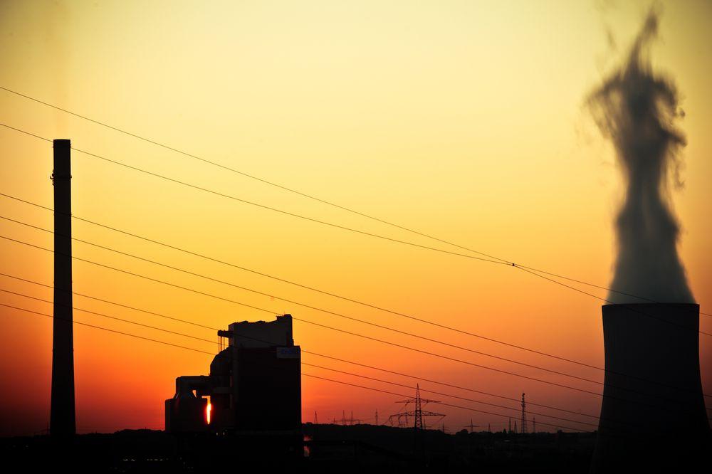 Sunset in Heilbronn