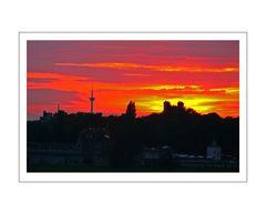 Sunset in Homberg