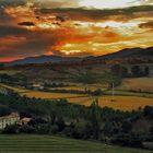 Sunset in Jaca(Huesca-Aragón)