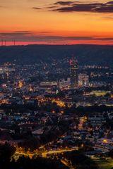 Sunset in Jena