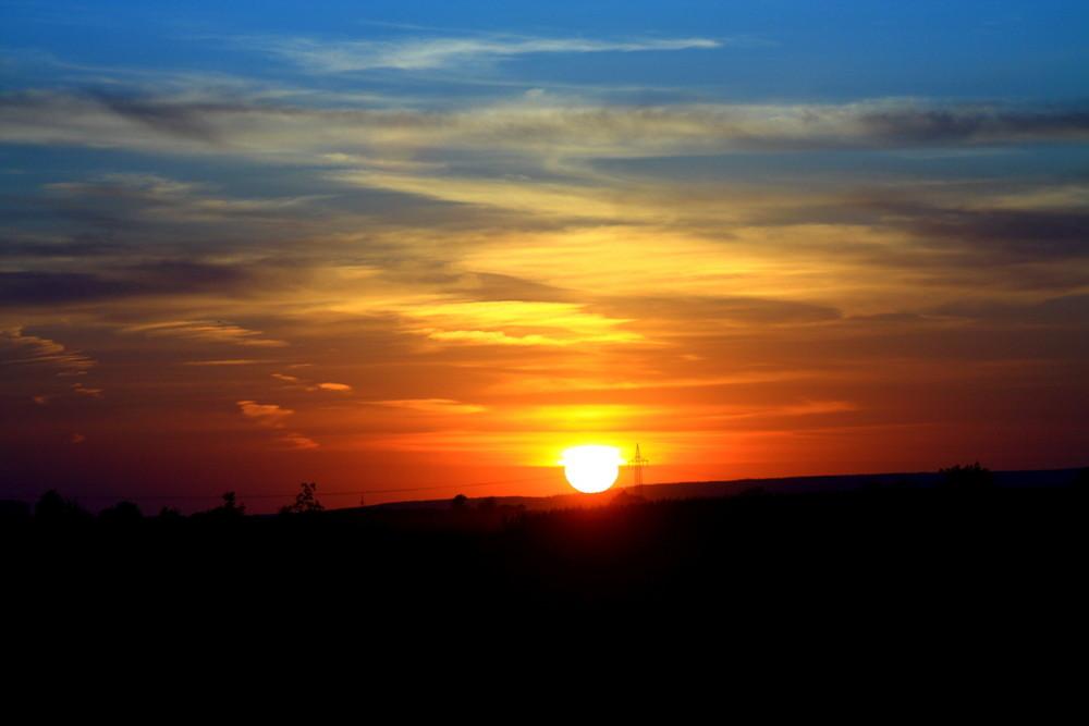 Sunset in Kerpen