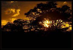 Sunset in Kimana II