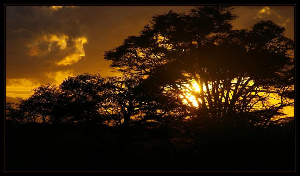 Sunset in Kimana II (Reloaded)