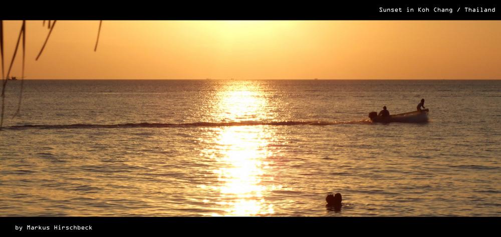 Sunset in Koh Chang (Trat)