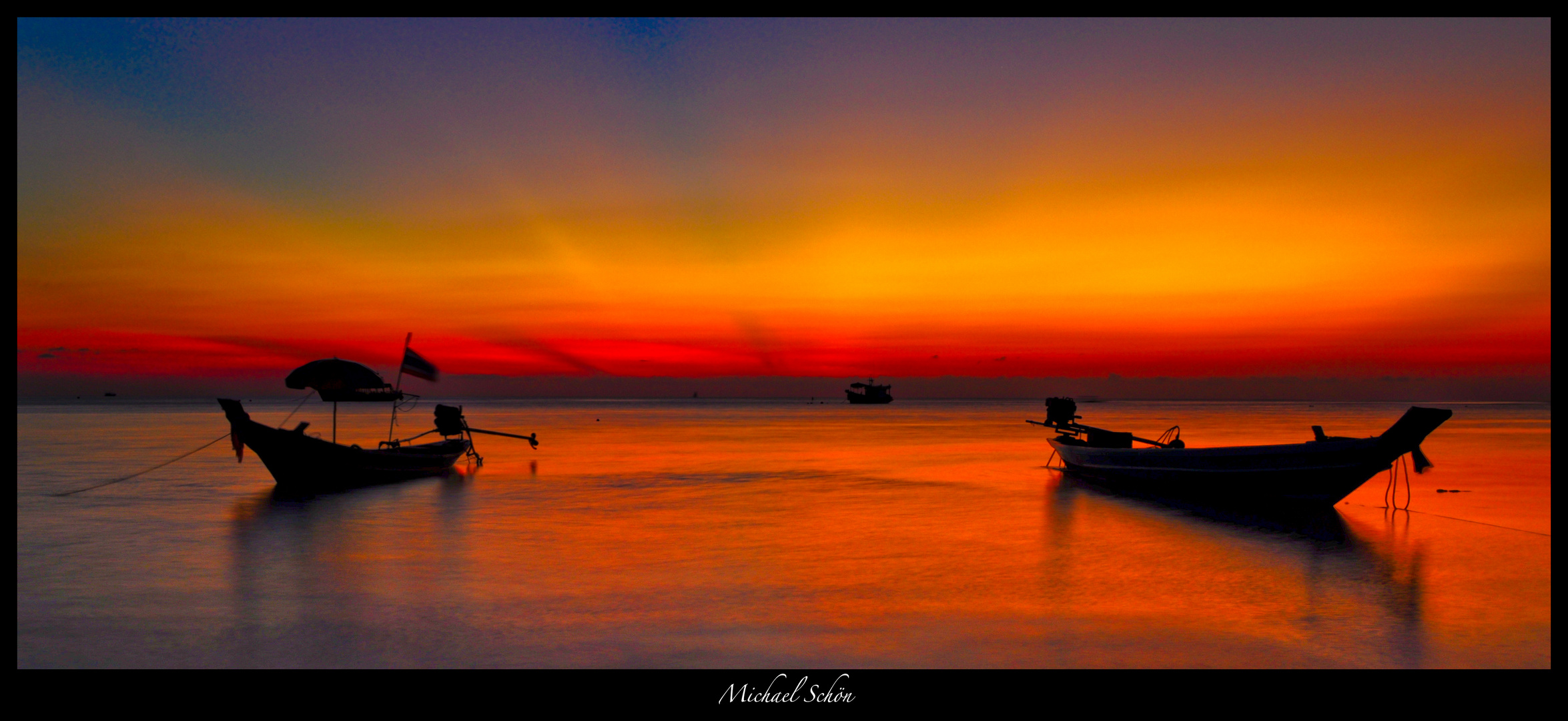 Sunset in Koh Tao, South Thailand