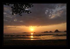 sunset in krabi...