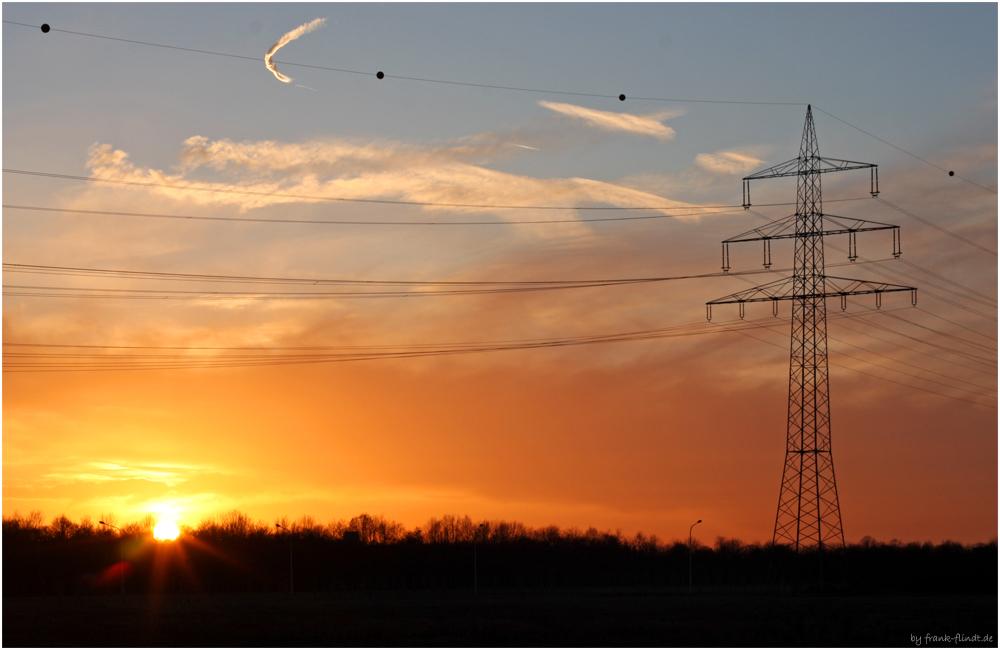 Sunset in Krefeld....