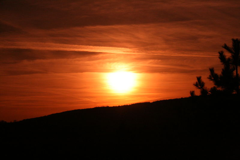 Sunset in Kronberg