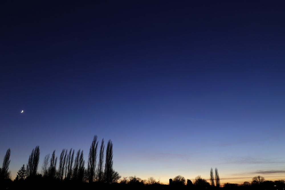 Sunset in Lünen and Great conjunction - image 7