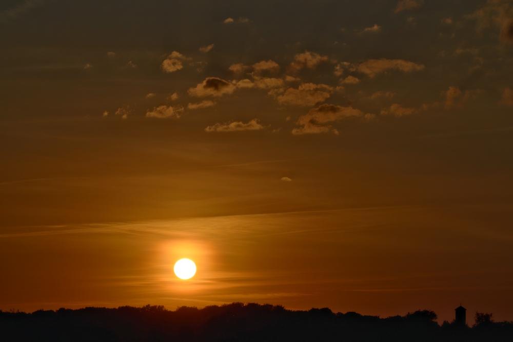 Sunset in Lünen
