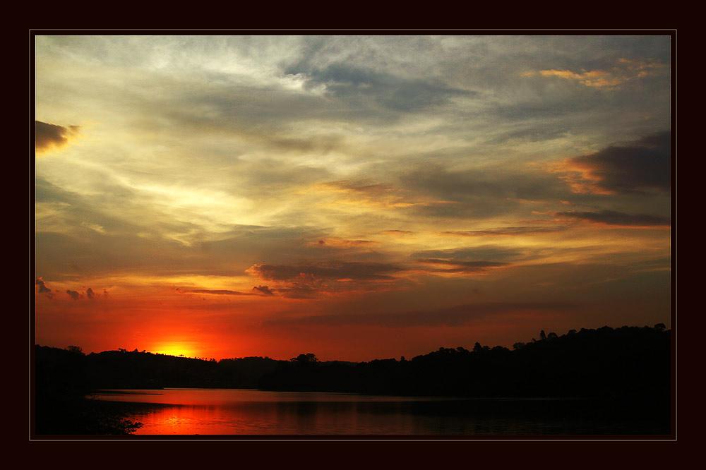 Sunset in Mairiporã