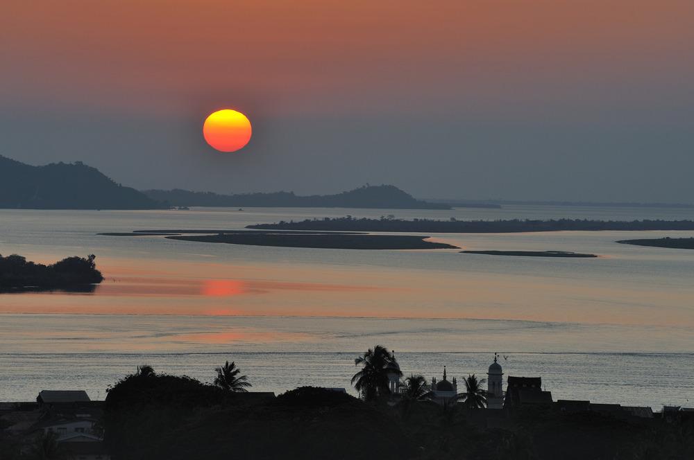 Sunset in Mawlamyaing