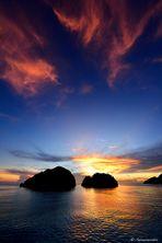 Sunset in Misool 2