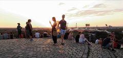 Sunset in Muc Olympiapark J5-18 +3+24Fotos