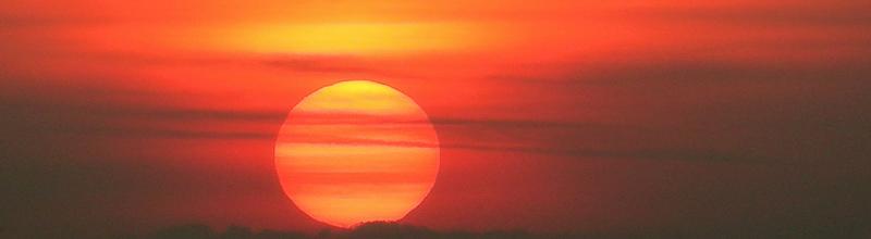 Sunset in Niederbayern