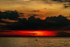 * Sunset in North Bali  *
