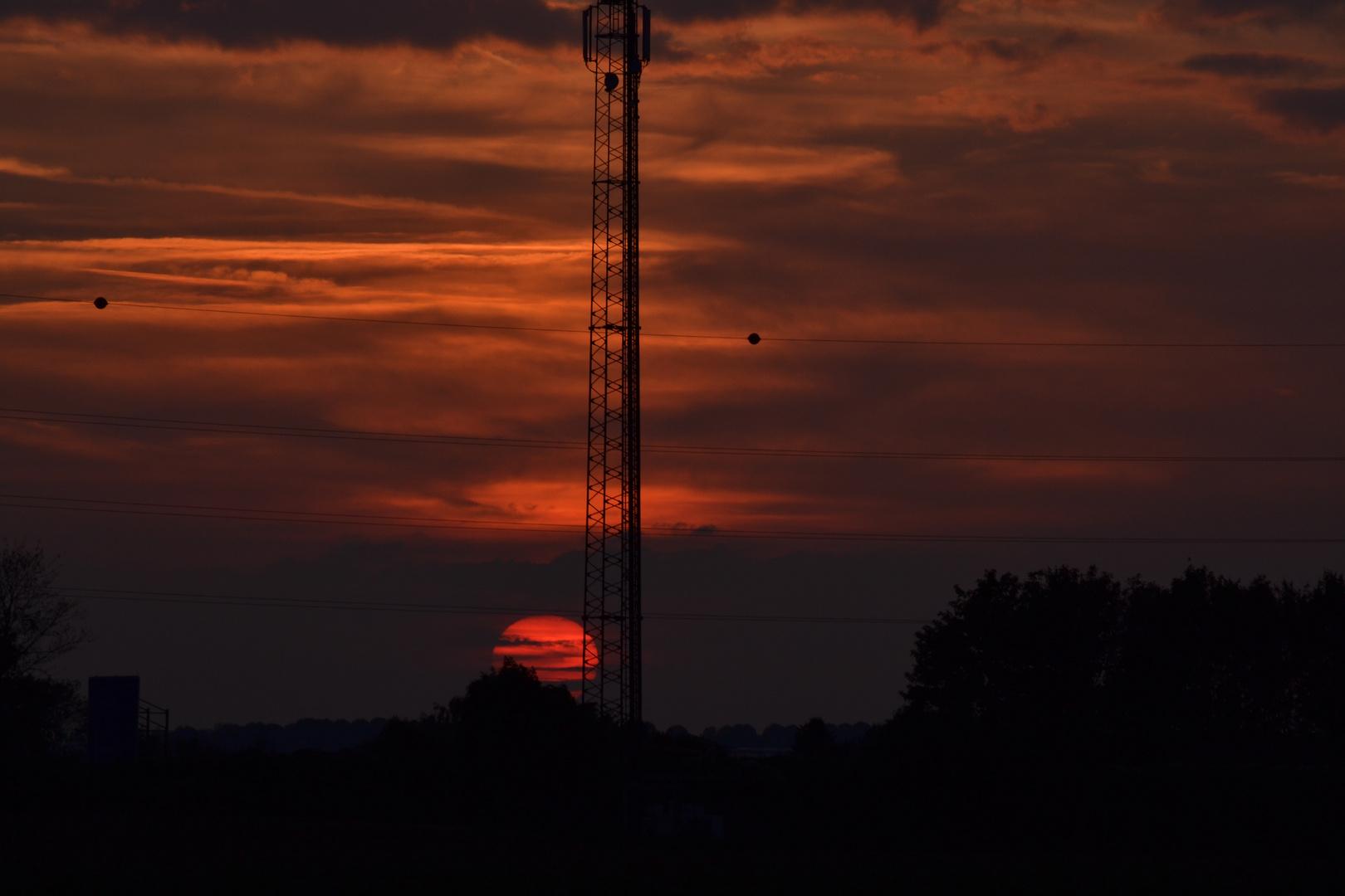 Sunset in NRW