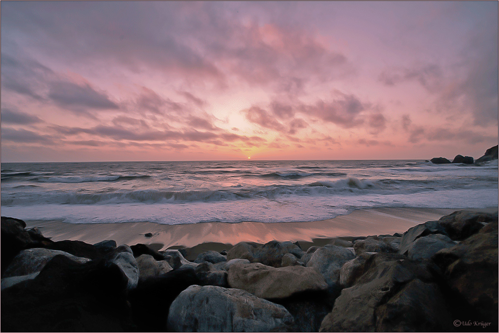 Sunset in Pacifica