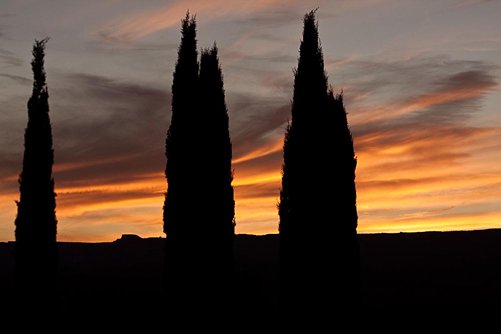Sunset in Page / Arizona