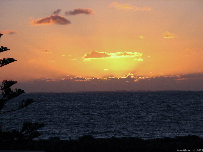 Sunset in Perth Australien