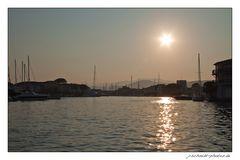 Sunset in Port Grimaud...