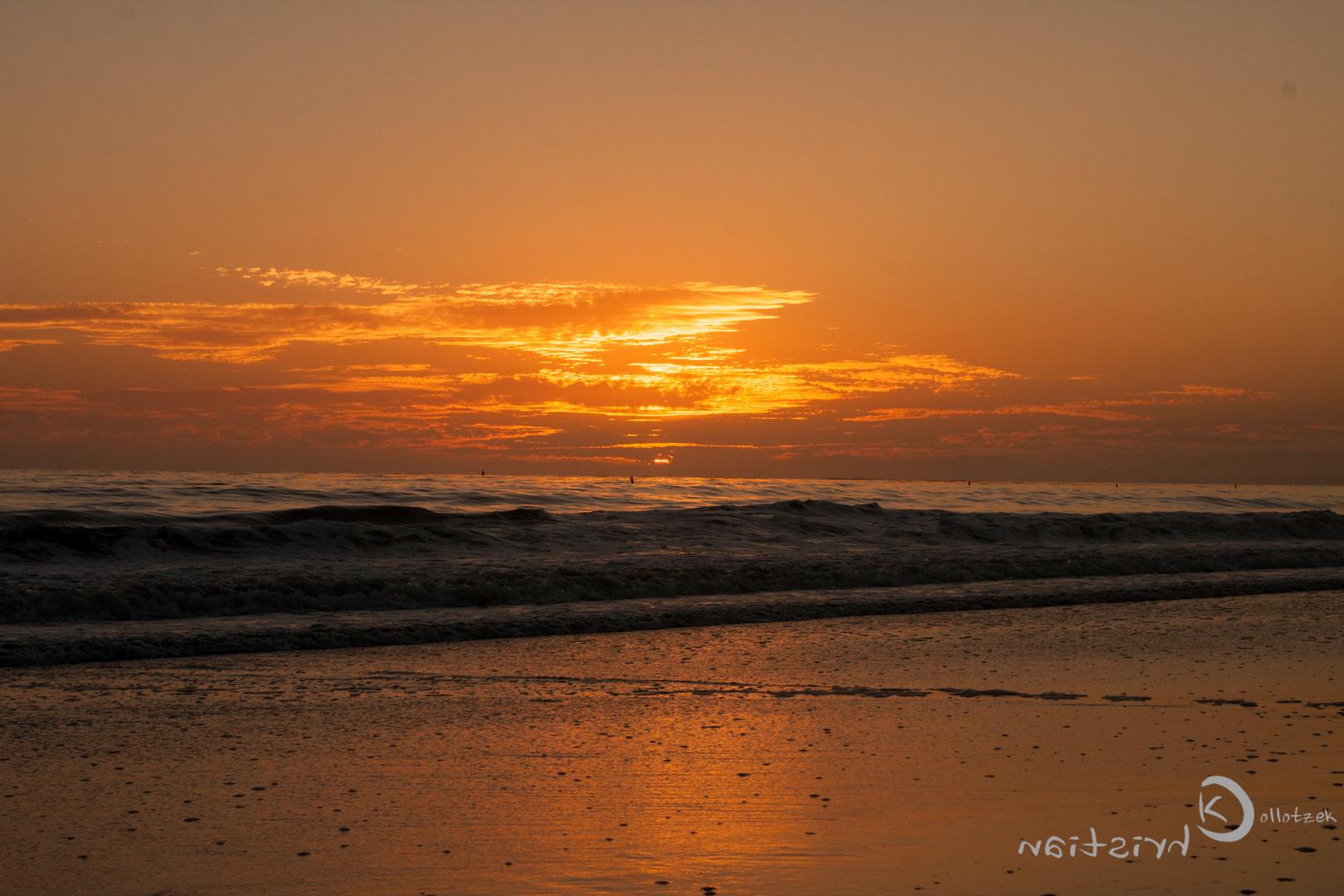Sunset in Santa Barbara