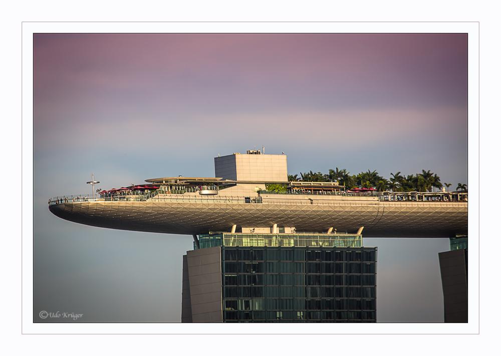 Sunset in Singapore