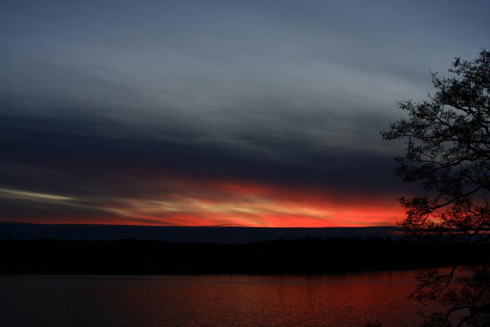 Sunset In Sunnersta