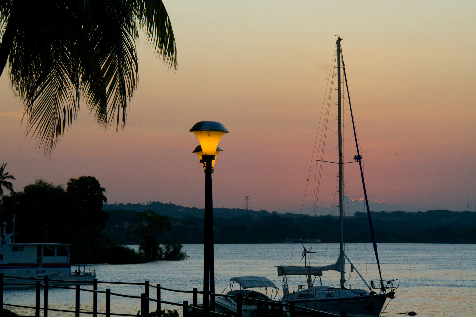 SUNSET IN THE CARONI