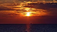 Sunset in the Middle Sea