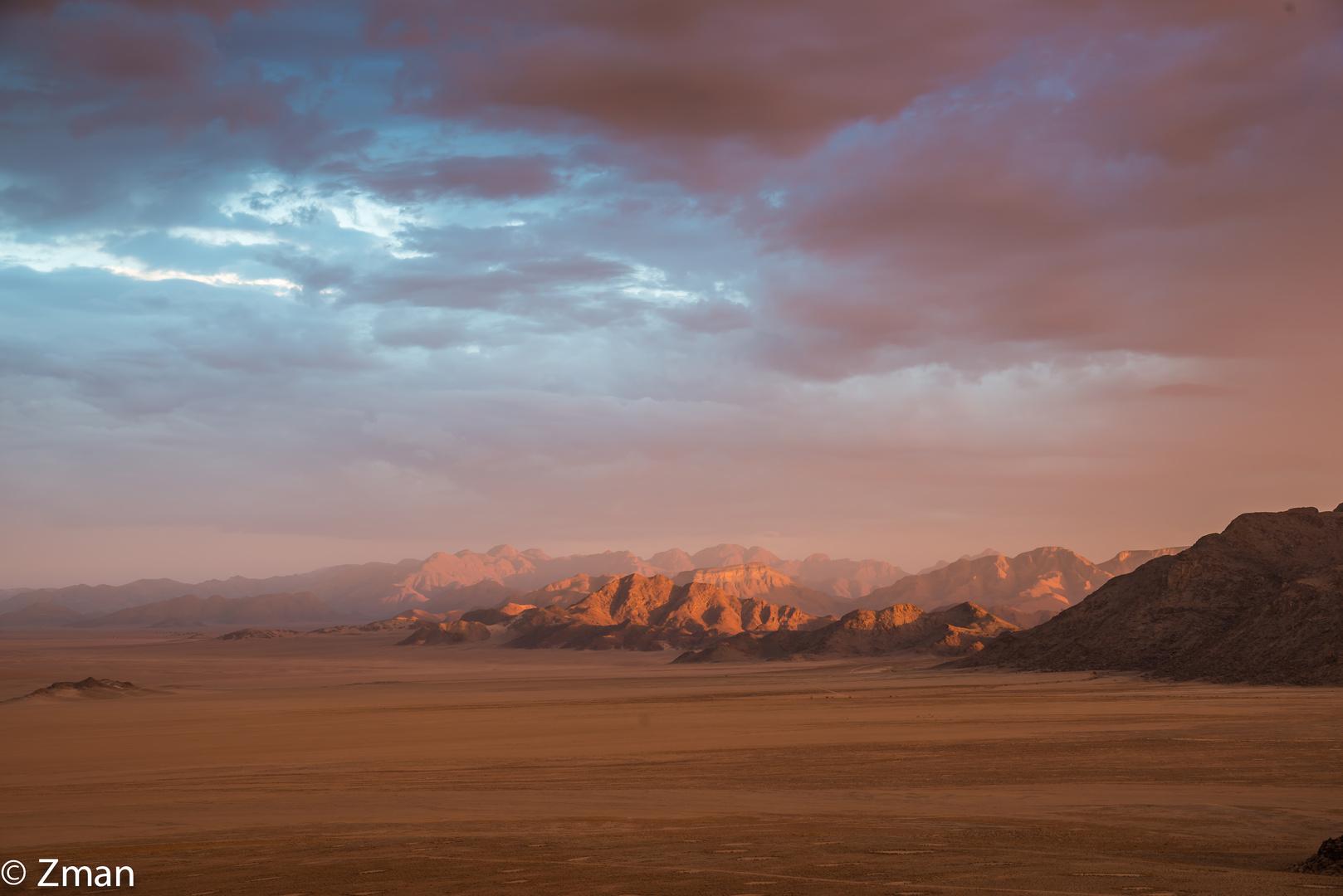 Sunset in The Namibian Desert 02