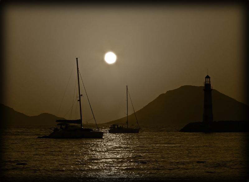 Sunset in Turgutreis