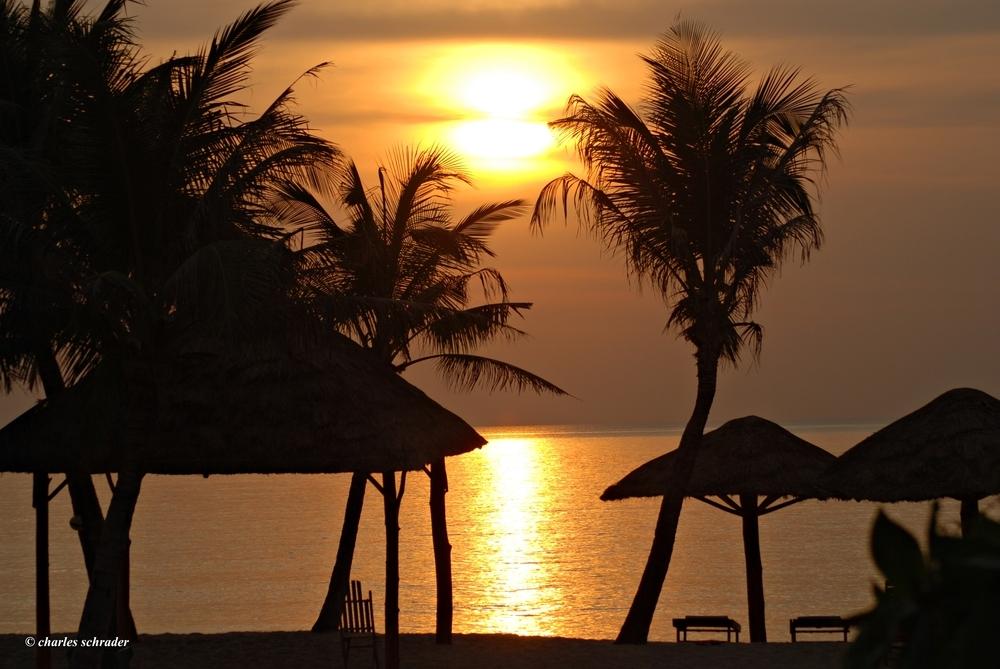 Sunset in Vietnam