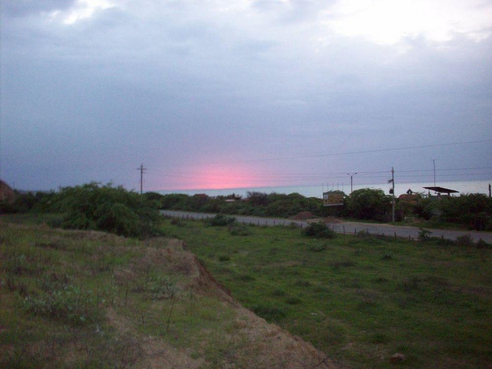 Sunset in Zorritos Beach