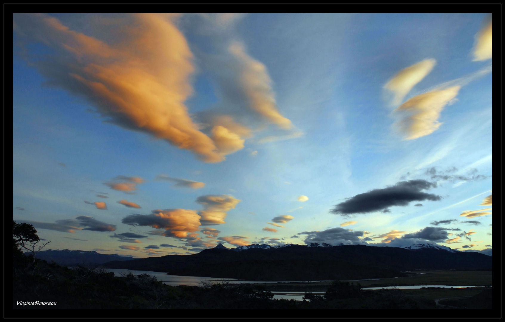 Sunset inTorres del Paine