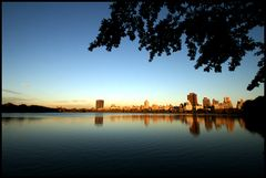 Sunset - Jacqueline Kennedy Reservoir