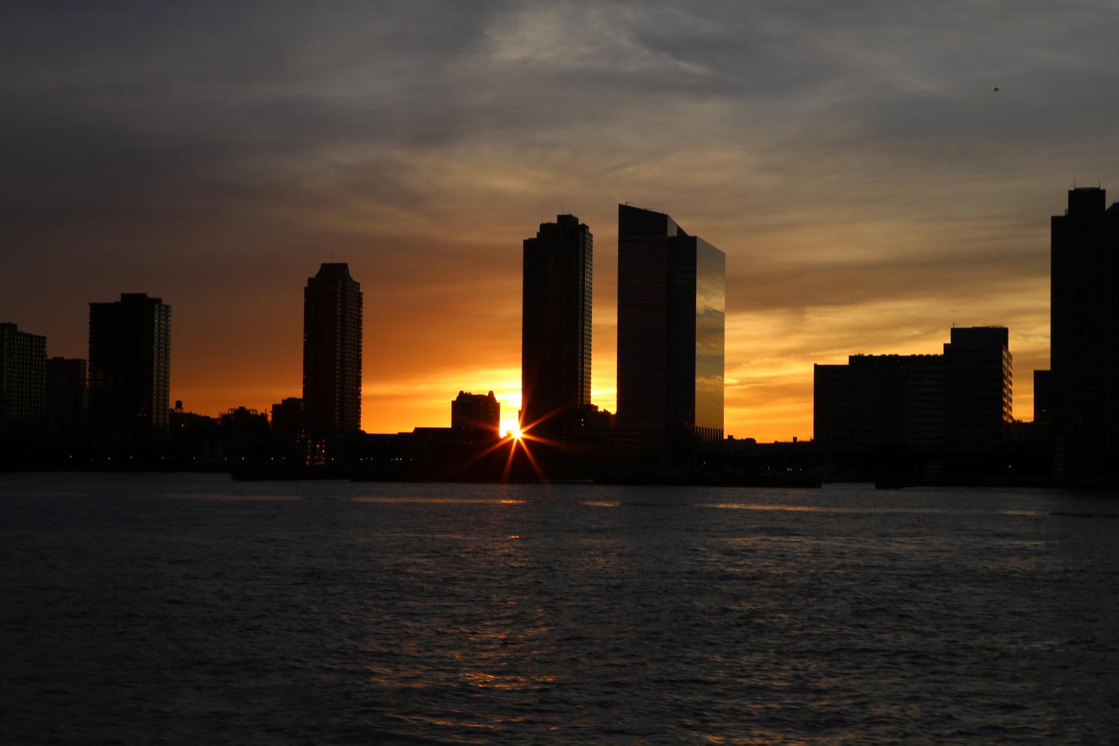 sunset @ Jersey City