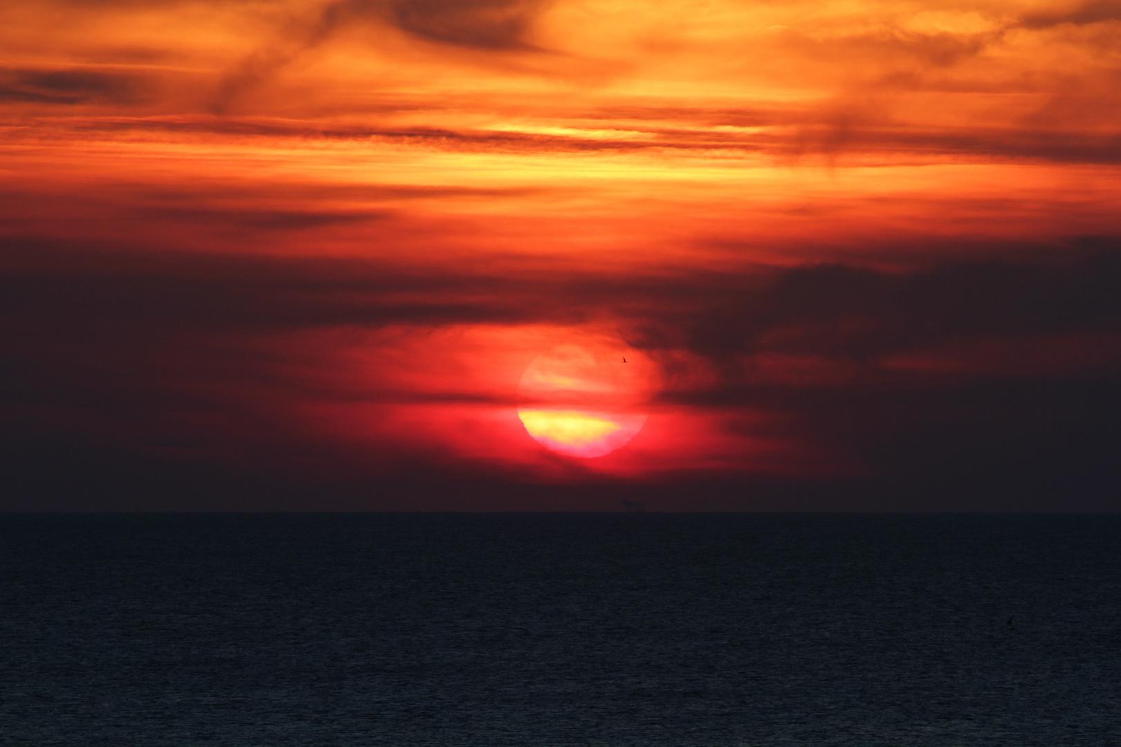 sunset Julianadorp