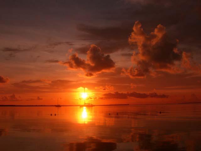 Sunset @ Key Largo - Florida