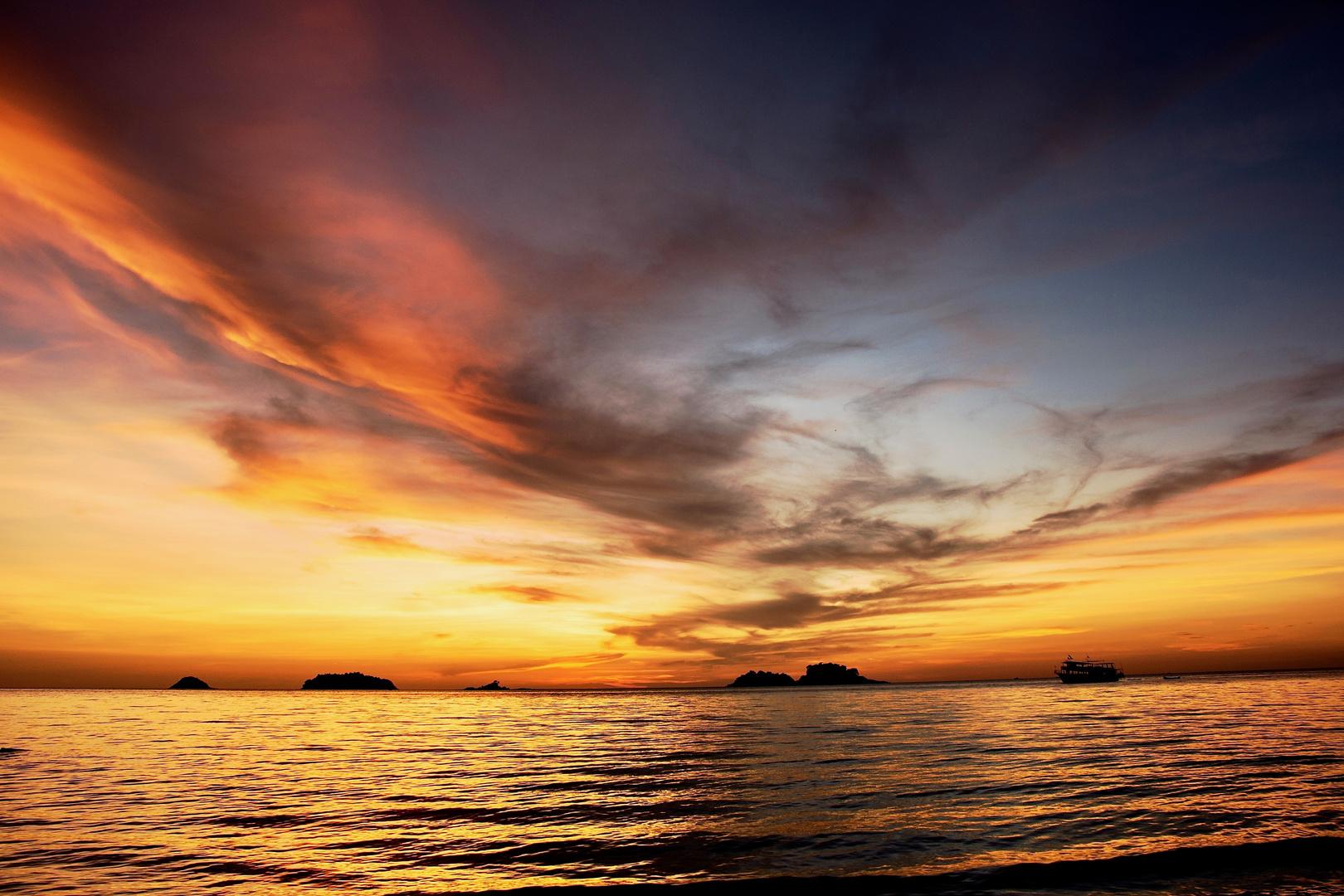 sunset koh chang