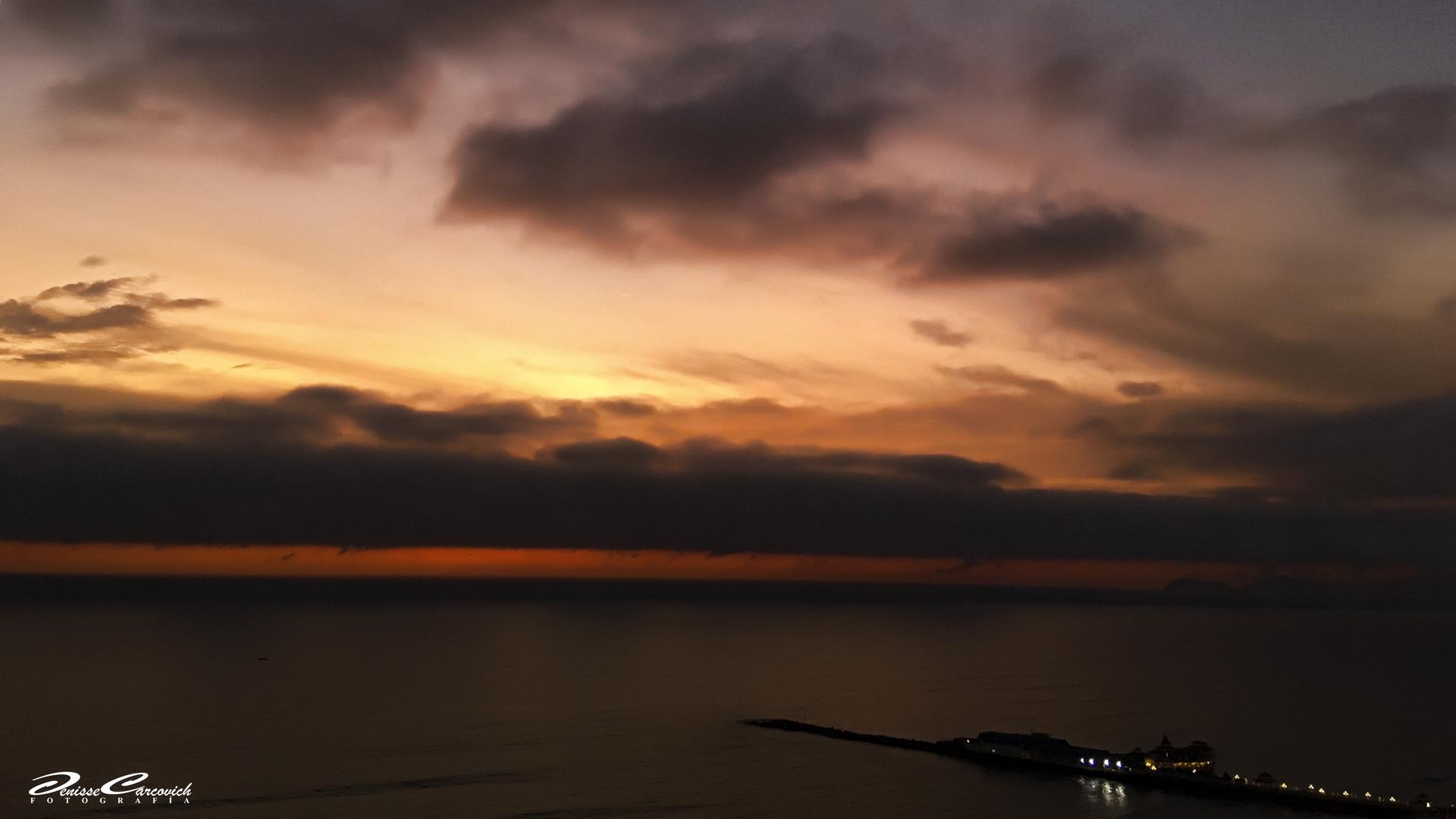 Sunset Lima-Peru