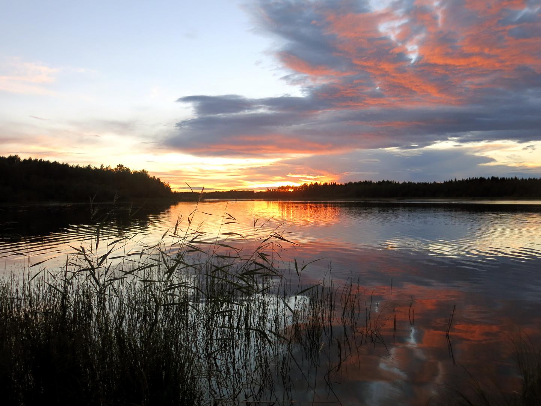 Sunset @ Luleå