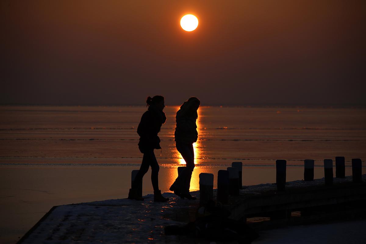 Sunset Neusiedler See